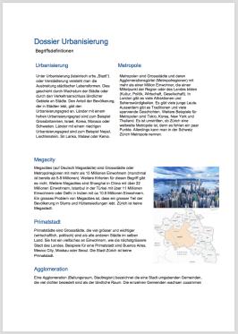 Urbanisierung 3